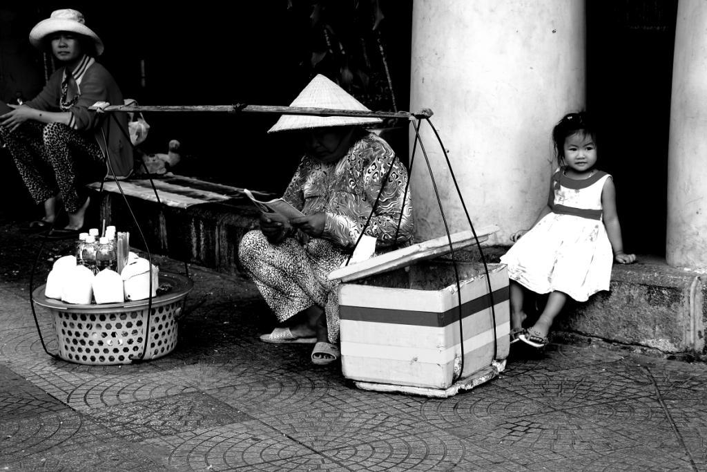 Vendor and child