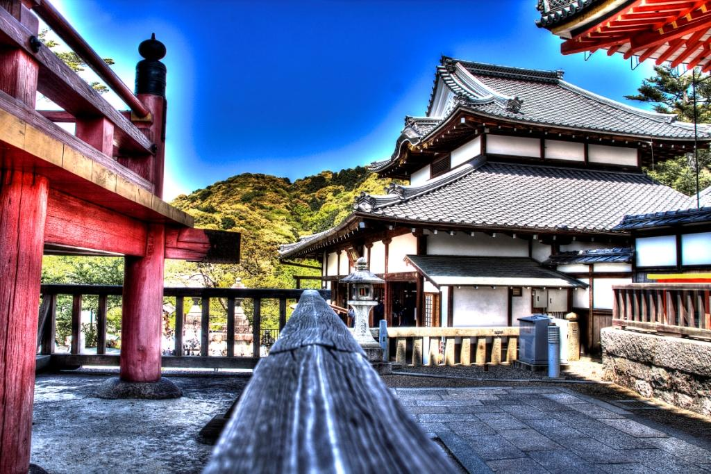 Kiyomizu Temple HDR