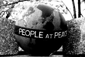 People at peace