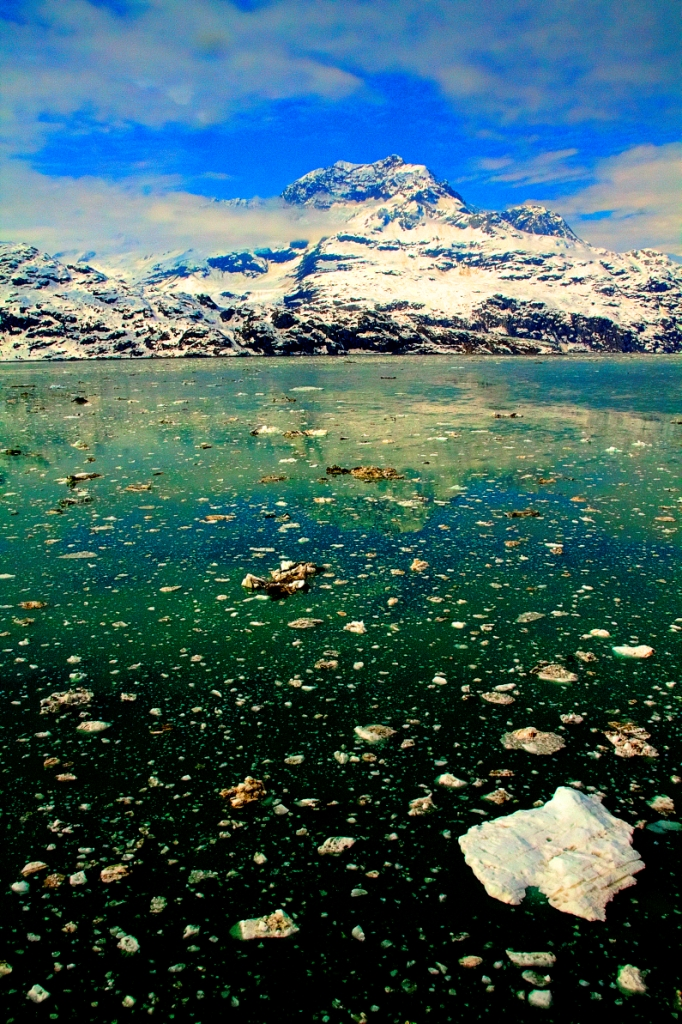 glacier bay icebergs
