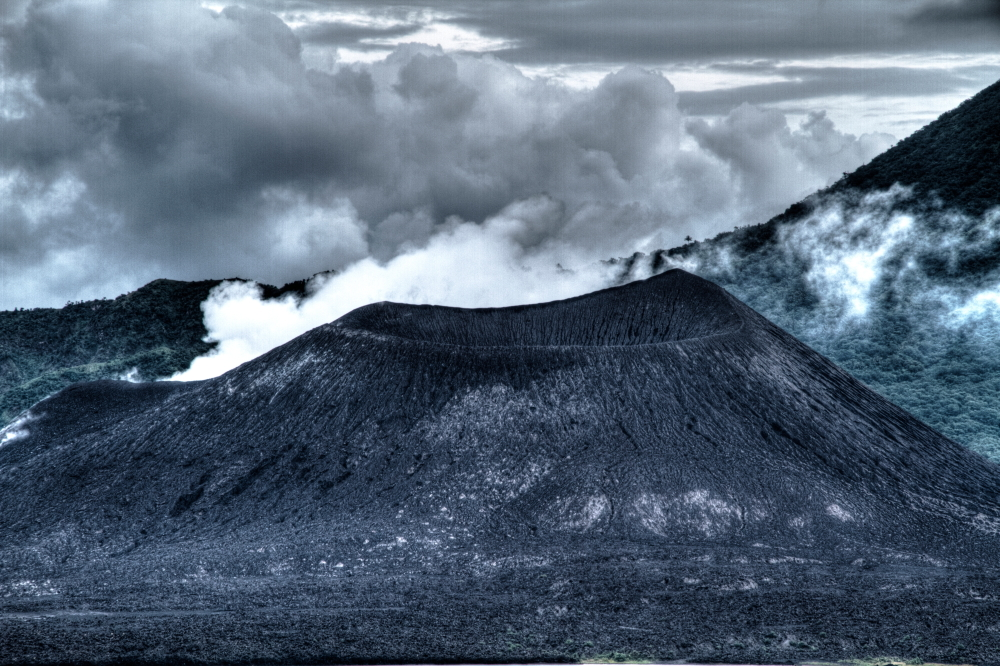 Mt Tavurvur