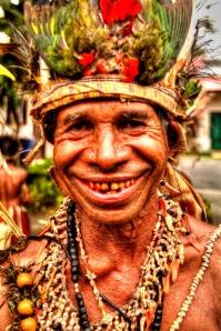 Red teeth