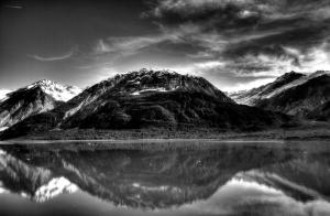 bw glacier bay