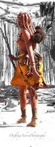 himba walking away