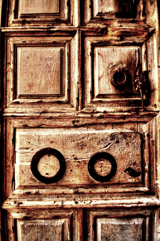 door to holy sepulchre