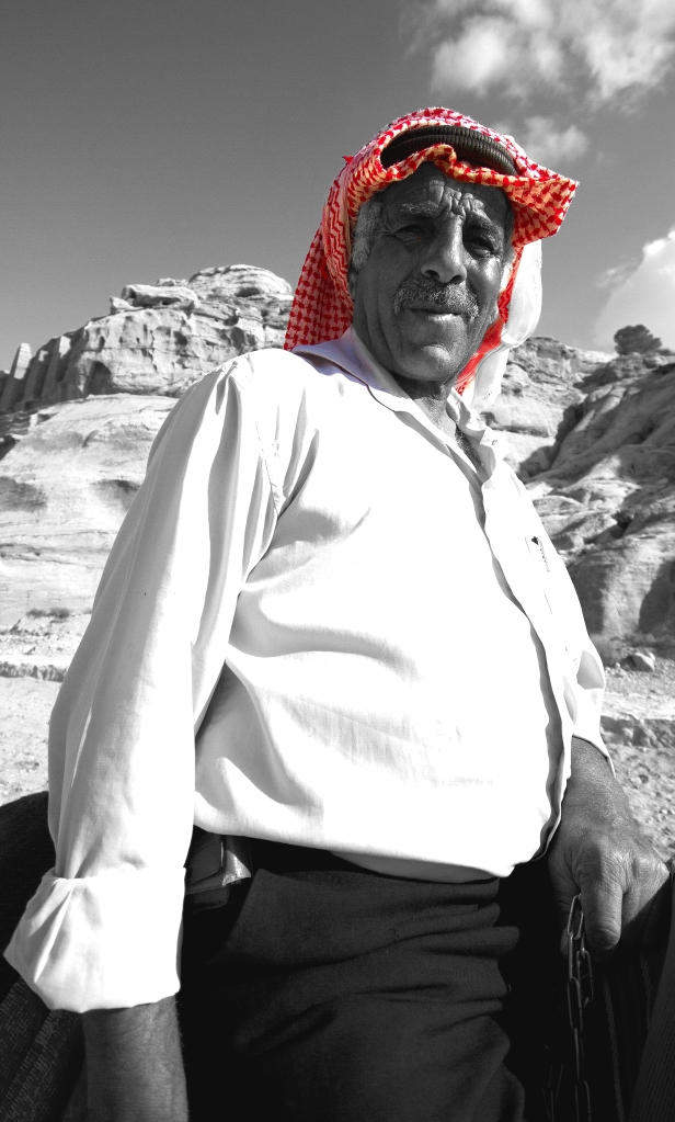 older arab man