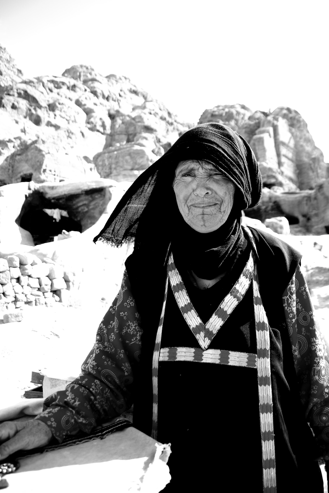 older beduoin woman