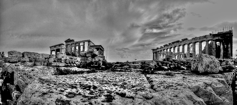 parthenon panorama